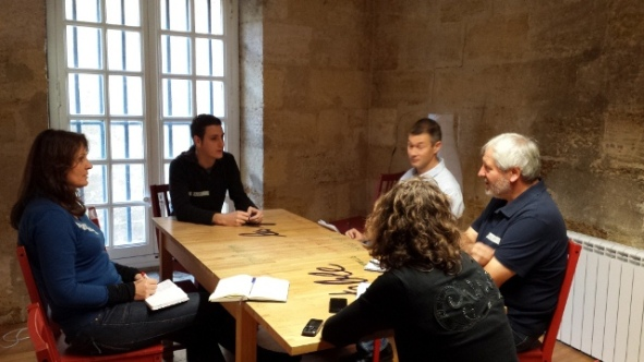 groupe coach retreat bordeaux 2013