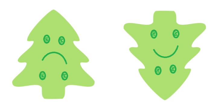 mes arbres de noel