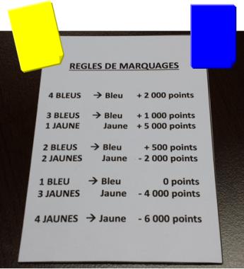 carton bleu